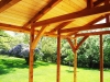 Timber framing for a sunroom