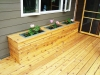 Deck 2 - Custom Planter boxes